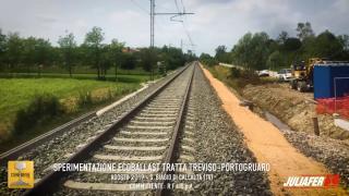 Sperimentazione EcoBallast tratta Treviso - Portogruaro
